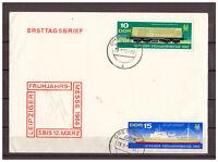 DDR, FDC Leipziger Frühjahrsmesse MiNr. 1349 - 1350 ESSt/ TSt Dresden 29.02.1968