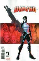 Domino #1 David Baldeon Variant NM (2019) Marvel Comics