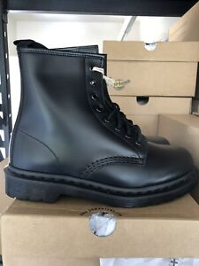 Dr Marten 1460 Mono Smooth Leather Lace Up Boots Size 11