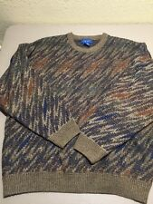 Towncraft Men's Sweater Size XXL Made In Korea Snazzy Print