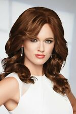 Knockout 100% Human Hair Wig by Raquel Welch MONOTOP ALL COLORS U PICK AUTHENTIC