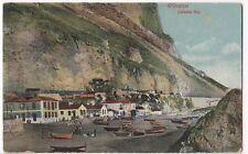 Gibraltar, Catalan Bay PPC, 1914 Paquebot PMK to Mrs Alexander, Ipswich, GB