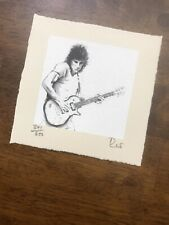 Rare Rolling Stones Ronnie Wood Show Me Autograph & Numbered Print CD Lithograph