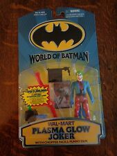 PLASMA GLOW JOKER WORLD OF BATMAN Action Figure 1999 WAL-MART UNOPENED NEW!