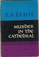 Murder in the Cathedral by T.S. Eliot (1964, TPB, Harvest Books, Highlighted)