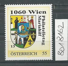 Österreich PM personalisierte Marke Philatelietag 1060 WIEN 8018162 **