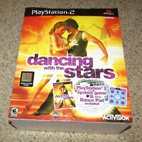 Dancing With the Stars Bundle for Playstation 2 PS2 Brand New! Fast Shipping!
