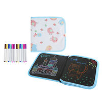 Erasable Drawing Pad Doodle Writing Board for Kids Toddler 12Pcs Pens