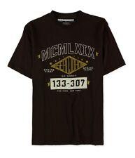 Sean John Mens No Mercy Graphic T-Shirt coffeebean M