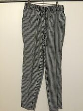 FABULOUS SUSSAN PANTS BLACK AND WHITE SIZE 8 NEW