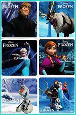 Frozen Stickers x 18 - BULK BUY Party Favours Favour -Exceptional design/quality