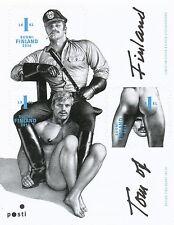 Finland 2014 MNH Erotic Gay Stamp Sheet - Graphic Artist Tom of Finland - Art
