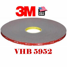 3M 5952 VHB 8mm x 108'Ft/33M Double Sided Foam Adhesive Tape Automotive Mounting