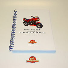 Honda CBX750F 1980s Factory Workshop Shop Manual Book. Reproduction. HWM044