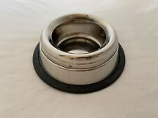 New listing spill-proof metal cat water bowl