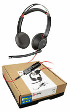 Plantronics Blackwire 5220 C5220 USB-A Headset (207576-01) Brand New, 2 Yr Warr