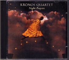 KRONOS QUARTET: NIGHT PRAYERS Kancheli Gubaidulina Golijov Ali-Zadeh UPSHAW CD