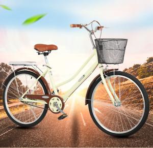 """Ladies/Women City Bicycle/Bike NEW SPEED® Dutch Style Vintage Cycle 26"""" Wheels"""