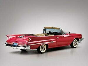 1960 CHRSLER 300 F  CONVERTIBLE RED NEW IN BOX
