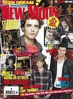 Teen Dream Magazine Twilight New Moon Robert Pattinson Kristen Stewart Posters