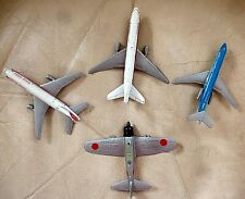 LiIntoy Plane Lot: diecast Ww2 Type-Zero A6M5 Japanese Fighter and others Vtg