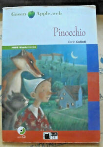 PINOCCHIO con Cd LEVEL STARTER A1 - CARLO COLLODI - GREEN APPLE CIDEB