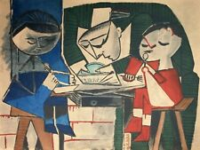 Pablo Picasso, The Children's Meal, Hand Signed Lithograph