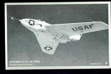 Northrop x4 US Air Force circa 1950 Photo Unposted Postcard