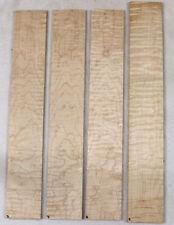 """Curly maple guitar fingerboard blank fretboard 3x19/"""" CMF3"""