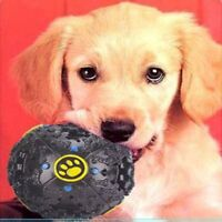1pc Lovely Pet Dog Cat Play Squeaky  Quack Sound Chew Treat Holder Funny Balls