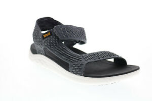Teva Terra Float 2 Knit Evolve 1099432-DKSW Mens Gray Canvas Sport Sandals Shoes