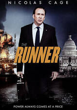 The Runner (DVD, 2015) Nicolas Cage Power Always Comes at a Price NEW Aftermath