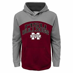 Mississippi State Bulldogs NCAA Youth Boys 8-20 Arch Pullover Hoodie