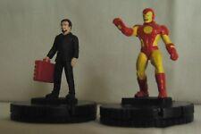 HeroClix Extras Lot: Avengers (Marvel) - Wizkids: Iron Man, Ant-Man, Hawkeye