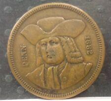 PENN 1682 OF PENNSYLVANIA'S BICENTENNIAL TOKEN  T072
