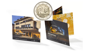 Coffret BU Euros Luxembourg 2021 - 8 pièces + 2€ Commémorative DUC Poinçon