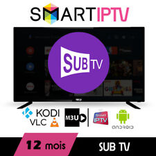 Subtv CHANNELS AND VOD 12 MONTH 4K VERY VERY FAST DELIVRY