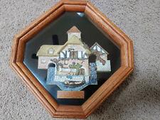 David Winter Retired Pershore Mill Framed Shadow Box 1990