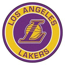 "Los Angeles Lakers 27"" Roundel Area Rug Floor Mat"