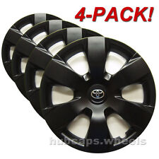 Toyota Camry Hubcaps - Genuine OEM Wheel Cover - Custom Black Matte (Set of 4)