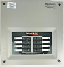 Generac Transfer Switch Panel OK7618B 8 circuit 50 amp 120/240V