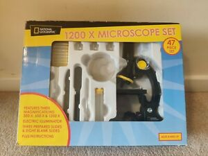 National Geographic 1200X Microscope Set