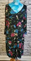Joe Browns Floral Bird Print Dress Size 12 uk