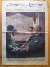 La Domenica del Corriere 24 gennaio 1937 Mussolini - Val Bisagno - E. Goering