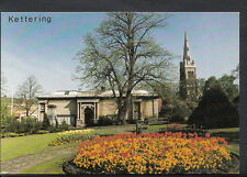 Northamptonshire Postcard - Kettering Manor Gardens and Art Gallery  DD436