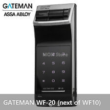 IREVO Gateman WF-20 Fingerprint Digital Door Lock Improve of WF-10 EnglishManual