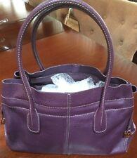 Authentic Tod's Purple Purse Handbag  - VGC