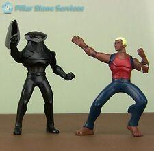 McDonald's 2011 Young Justice Black Manta and Aqua Lad Action Figures