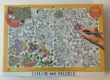 Color Me Puzzle Hidden Butterflies 300 Piece Eurographics 19x13 Anti Stress