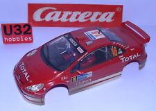 CARRERA EVOLUTION CARROSSERIE PEUGEOT 307 WRC #16 F.LOIX EFFET TERRE CUITE